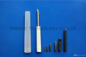 RFID Animal Microchip Needle 1.4*8mm 134.2KHz ISO11784 5 transponder injector for pet identification