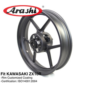 Cerchio anteriore Arashi ZX-10R per Kawasaki Ninja ZX10R 2004 2005 Accessori moto CNC alluminio ER6N Z750 Z800 Z1000SX 04 05