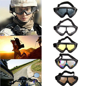 Skiing Eyewear Snowboard Motorcycle Dustproof Sunglasses Ski Goggles UV400 Anti-fog Outdoor Sports Windproof Eyewear Glasses
