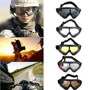 Gafas de sol de snowboard de esquí Gafas de sol a prueba de solpasas a prueba de soles Gafas de esquí UV400 Anti-niebla Deportes al aire libre Eyewear a prueba de viento