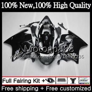 Fairing Bodywork 광택 블랙 HONDA 블랙 버드 CBR1100XX 96 97 98 99 00 01 53PG CBR1100 XX CBR 1100XX 1996 1997 1998 1999 2000 2001 키트