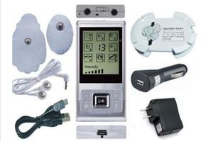 Livraison gratuite vente chaude 2 canaux TENS / EMS Machine masseur numérique électrode stimulateur acupuncture pour la thérapie physique