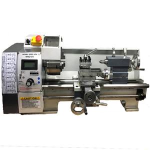 Mini tornio da 850W 220V Brushless Motor Mini tornio a velocità variabile per la lavorazione dei metalli Lavorazione dell'acciaio inossidabile