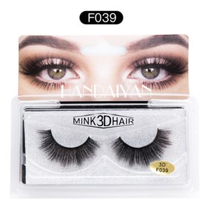 Dropshipping New makeup HANDAIYAN 3D Mink Hair False eyelashes 6 Styles Handmade Beauty Thick Long Soft Mink Lashes Eyelash