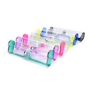eyewear case PVC 안경 상자 근시 용 투명한 독서 안경 케이스 플라스틱 안경 케이스 6 색 다색