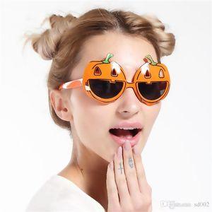 Mode Halloween Citrouille Lunettes de Soleil Party Favors Événement Lunettes Creative Mignon Drôle Lunettes Nouveauté Pour Fête Meilleur Cadeau 6 8sf ZZ