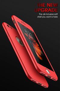 Custodie in silicone TPU morbide a 360 gradi per la protezione completa del corpo per iPhone X 6 6s 7 7plus 8 8 Custodia posteriore
