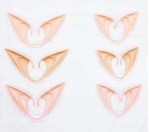 Mysterious Elf Ears Fee Cosplay Zubehör Latex Soft Prosthetic Falsche Ohr Halloween Party Masken Cos Maske
