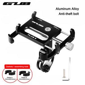 """Gub metall cnc fahrrad universal handyhalter motorrad lenkerhalterung griff telefon unterstützung für 3,5-6,2 """"iphone gps c18110801"""