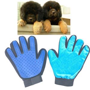 Logo personalizzato in dotazione Cane sinistro e destro Prodotti per la toelettatura per cani Prodotti per cani Grooming Glove / Brush / Comb