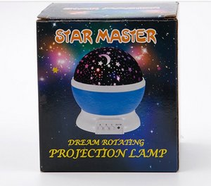 Creative Rotating Romantic Glowing Child Birthday Gift Starry Sky Starry Sleeping Projecto