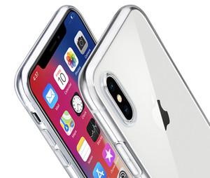Ultrathin TPU yumuşak kılıf iphone XR XS MAX X 8 Artı 0.37 Marka telefon kapak iPhone7 Için Samsung Slim için Şeffaf İnce case arka