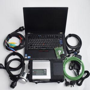 Super-MB-Stern C5 SD für mb verbindet cartruck Diagnose zu sd c5 mit Laptop t410 i7 4g hdd 320gb windows 7