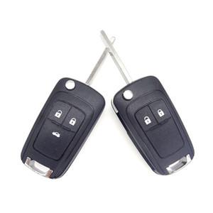 Katlanır Araba Anahtarı Kabuk Uzaktan Çevirme Anahtar Fob Vaka Opel Vauxhall Astra H Insignia J Vectra C Corsa D Zafira G