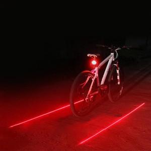 DUUTI Vélo Laser Lumière Arrière Feu Arrière LED Ligne Parallèle Éclairages Nuit Avertissement De Sécurité Lumière Montagne Vélo Décoratif Queue