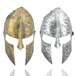 New Spartan Warrior Helmet Mask Halloween Maschera horror Cavaliere Hero Masquerade Maschere a pieno faccia Decorazione di Halloween Christmas Party