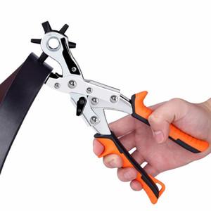 Envío gratis correa de cuero puncher mano herramienta de perforación pu puncher agujero herramienta de pvc tarjeta ojeteador pinzas de trabajo