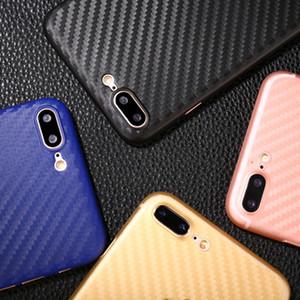 Pour iPhone X 8 7plus moins cher fibre de carbone PP materia cas ultra mince 0.3mm étui de protection avec iphone 8plus cas de téléphone portable