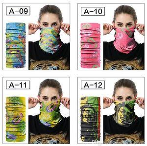 Maschera magica Sciarpe Sciarpa all'aperto multifunzionale Ciclismo Bandana delle donne degli uomini della fascia dei capelli sciarpa magica Headwear Sport Bandana 40 stili