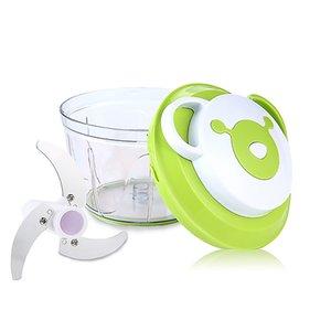 Экологию Easy Потянуть Руководство Food Chopper Растительные Slicer Dicer Ручной Лук Garlics Фрукты Орехи Salad Processor Mixer Blender