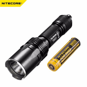 Nitecore TM03 LED Flashlight CREE XHP70 LEDs Tactical Flashlight 2800 Lumens with TM03 18650 for Hunting Fishing Camping Seaching Torch ligh