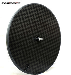 New arrival,FANTECY carbon disc wheel 700c clincher tubular bike disc wheel for track bike and road bike with UD matte finish