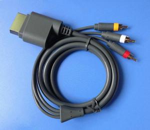 HD TV Componente A / V AV de Áudio e Vídeo Cabo Óptico Cabo de Chumbo para o Console de Microsoft Xbox 360 Video Game de Alta Qualidade RÁPIDO NAVIO