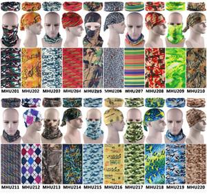Angeln Bandana Military Digital Camo Styles Camouflage Multifunktionale Headwears Radfahren nahtlose Schal Magic Bandana Ski Wandern Stirnband