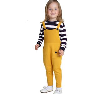 Campure 1-5Yrs Çocuklar Pantolon Moda Çocuk Giyim Yeni Bebek Erkek Kız Yün Tulum Pamuk Daha Renk Çocuk Pantolon