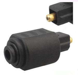 Plug Toslink Optical 3.5mm Feminino Mini Jack Para Digital Toslink M Adaptador De Áudio