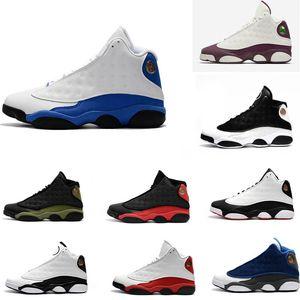 De calidad superior al por mayor baratos Nueva 13s 13 zapatos de baloncesto del Mens zapatillas de deporte de los zapatos corrientes de capacitadores para los hombres Tamaño 7-13