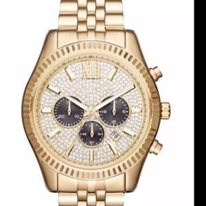 Мода Классический Бизнес Большой Циферблат Diamond M 8494 8515 Коробка Роскошные Продажи Женские Часы Часы Наручные Часы