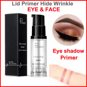 Pudaier Eye shadow Primer Base de maquillaje en crema Crema de ojos y rostro prolongada Gel Brighten Base de sombra de ojos resistente al agua Base antiarrugas