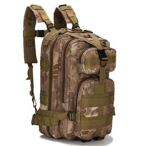 Çok fonksiyonlu Molle Askeri Taktik Açık Spor Sırt Çantası Kamp Yürüyüş Trekking Tırmanma Oxford Kamuflaj 3 P Sırt Çantası Toptan