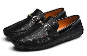 Hommes Penny Loafer Chaussures Casual Mocassins À Glissière À La Main Vintage Italie Original Chaussures De Conduite De Mariage Mâle DH2H13
