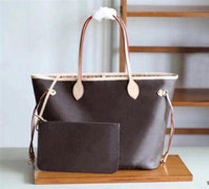 haute qualité 4 couleurs treillis 2pcs mis mode sac à main cils designer sacs à main tote bag sac bandoulière sac bandoulière sac messenger femmes # 787677