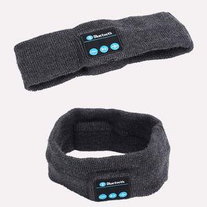 Bluetooth-Stirnband-Kopfhörer für Frauen Man Wireless Music Earphone zum Schlafen Laufen Yoga, Built in Mic