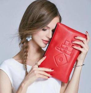 2018 Nouveau C mode PU sac à main à fermeture à glissière avec boîte-cadeau sac de fête élégant célèbre beauté cas cosmétique luxe maquillage organisateur compteur cadeau