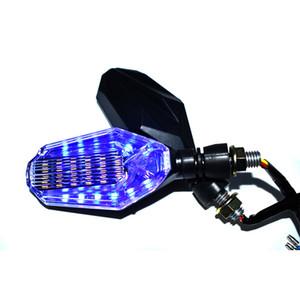 보편적 인 M10을 위해 Honda Yamaha Kawasaki Suzuki Harley Motor 10mm 깜박이는 빛을위한 오토바이 방향 신호등
