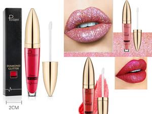 Il più recente lucidalabbra Pudaier Classic vivido lipgloss 18 colori Pearlite color Matte Lipstick Lip gloss Kit Lip Cosmetics 18 Colors set trucco