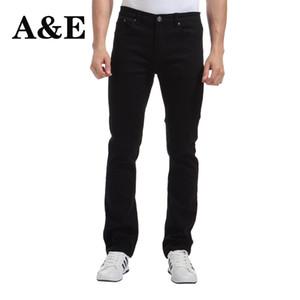All'ingrosso-Alice Elmer Pants Uomo Stretch pantaloni casual per uomo Slim Straight Nero Pantalones de hombre Jeans para homem