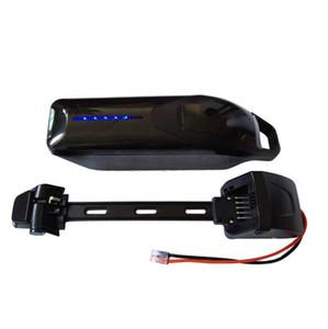Envío libre 48V tiburón batería de litio eléctrica 48V 13Ah de la batería hacia abajo ebike tubo con BMS y 30A 5V puerto USB