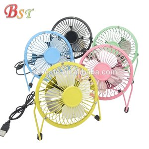 2018Metal mini USB FANS 5V Mini Rechargeable Fan Freeshipping Smallest Fans With Cool Wind For Kids