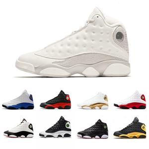Scarpe da pallacanestro da uomo 13 13s di alta qualità con cappuccio e abito Phantom Hyper Royal Chicago Bred Class of 2002 Scarpe da ginnastica sneakers Cat nere