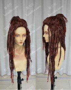 NEW DRAMAtical Murder / Minke / Black Dreadlocks / Cosplay / Wig 색상 : 다크 브라운
