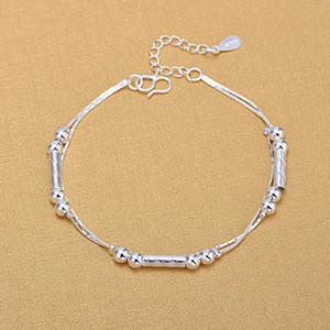1 pc sol folha estrela sino pingente de coração de prata banhado encantos evitar alergia pulseira Chain link pulseiras pulseiras frete grátis