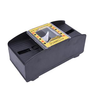 جديد التلقائي بوكر بطاقة المتثاقل بطارية تعمل كازينو لعبة اللعب خلط آلة متقدمة كازينو روبوت للنساء الرجال