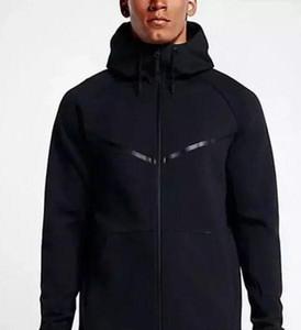 Nova alta qualidade DO HOMEM HOODIE SPORTSWEAR TECH FLEECE WINDRUNNER moda lazer jaqueta esportiva correndo jaqueta de fitness casaco