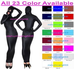 Mulheres sexy envoltório trajes novos 23 cor lycra spandex corpo sacos trajes com olho aberto / boca sexy body bags saco de dormir dh267