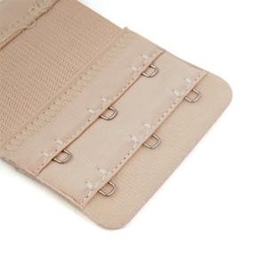 30pcs / lot 3 crochets Soutien-gorge doux Extender Bracelet Boucle Extension 3 couleurs Nouveau Femmes Intimates Soutien-gorge de remplacement pour ceinture Vente chaude